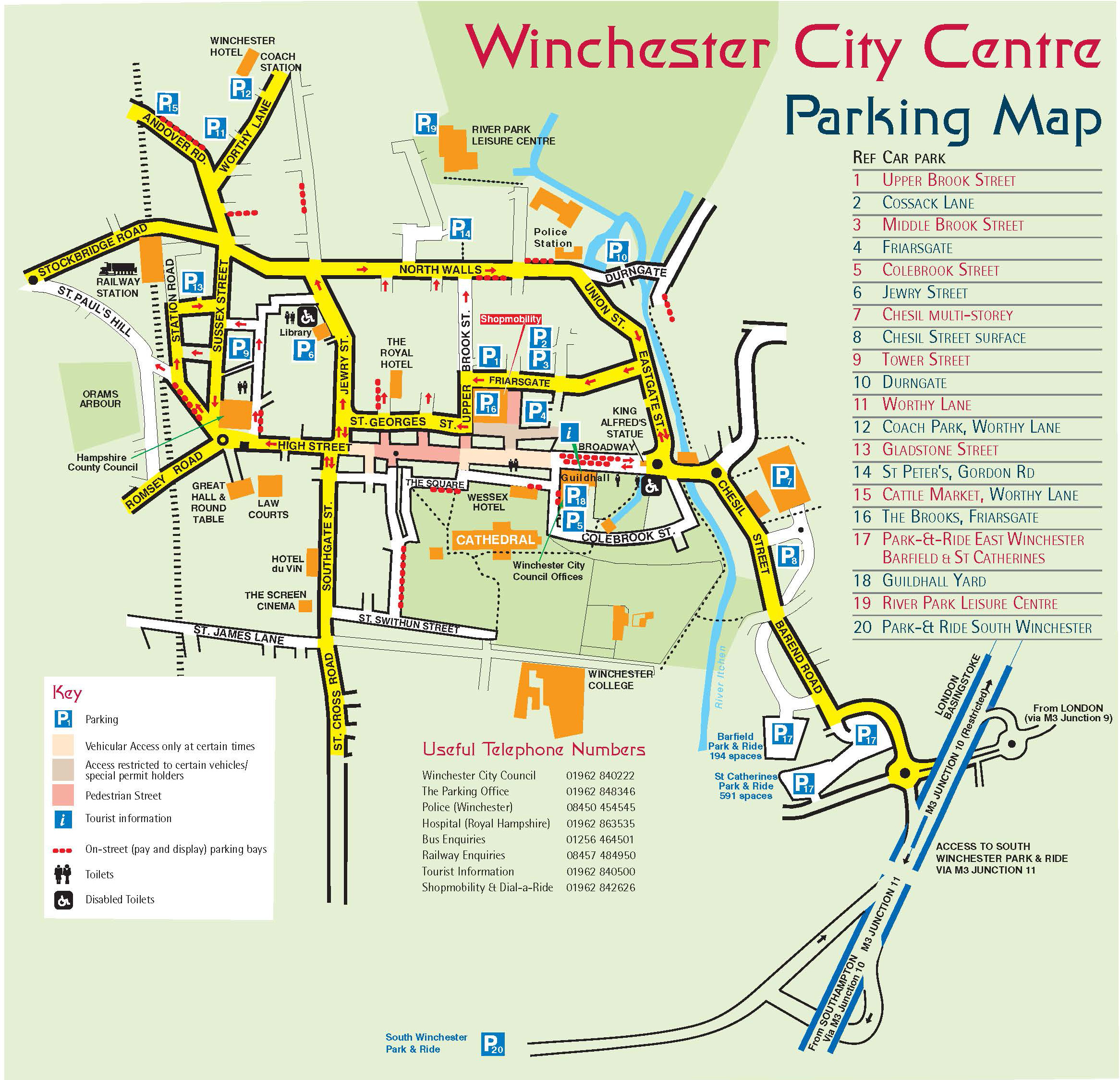 Location and contact us winchester pilates for Location parking